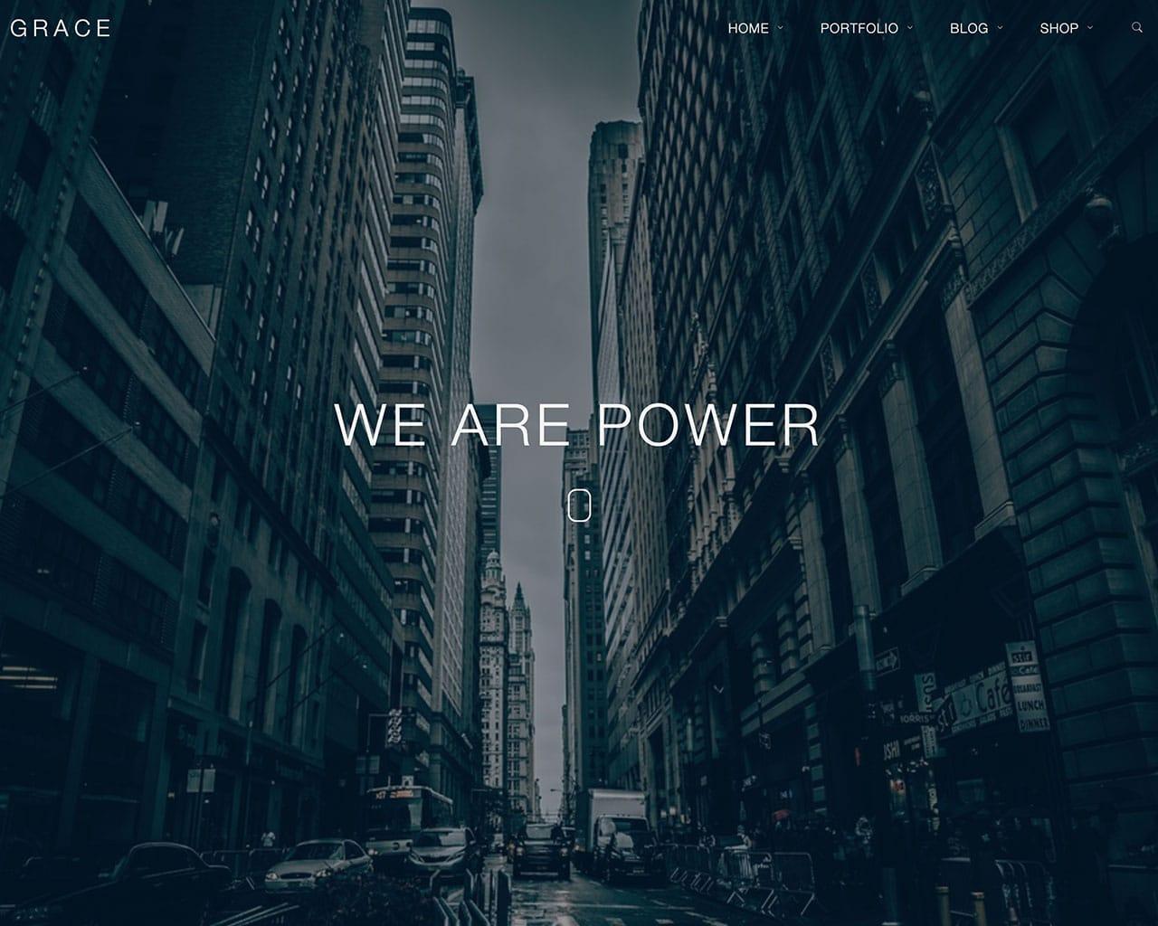 Grace – Creative Multipurpose Bootstrap Template
