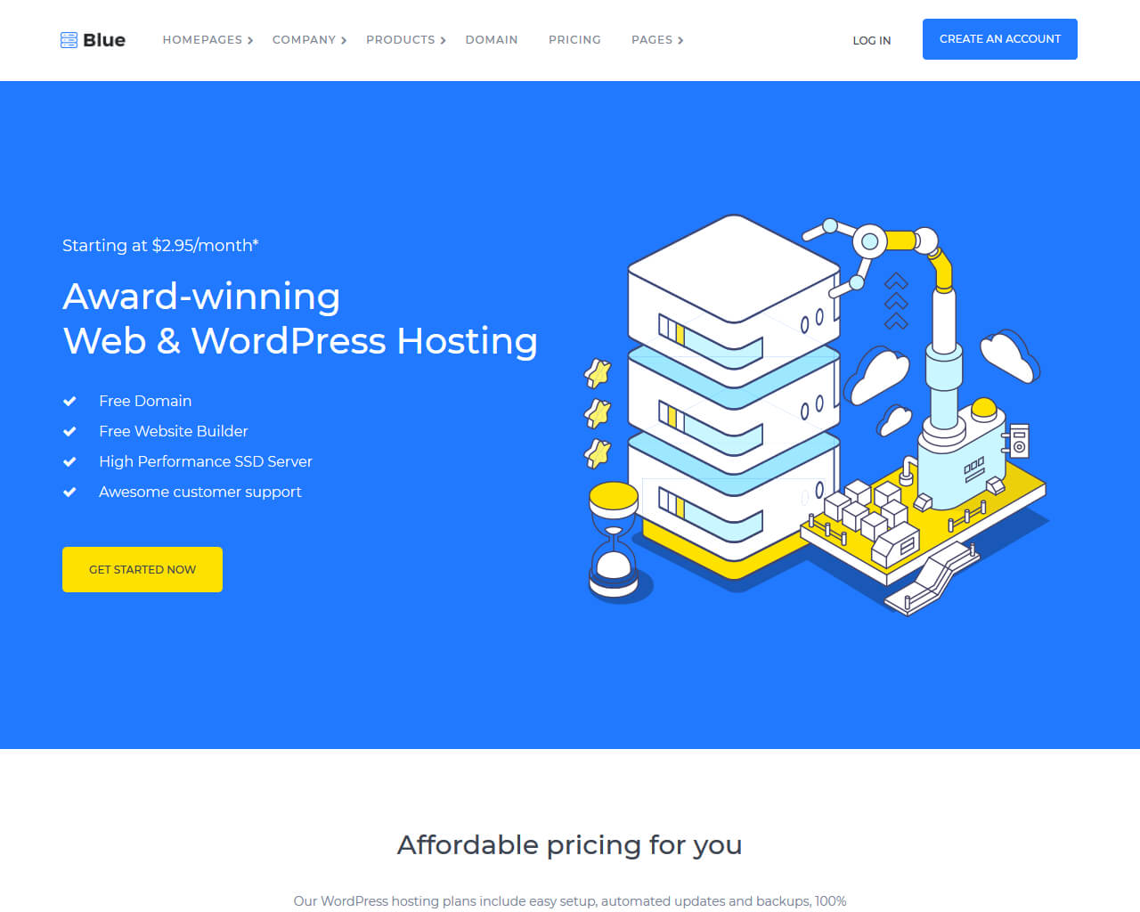Top Hosting Templates to Create your Pro Hosting Website 2018