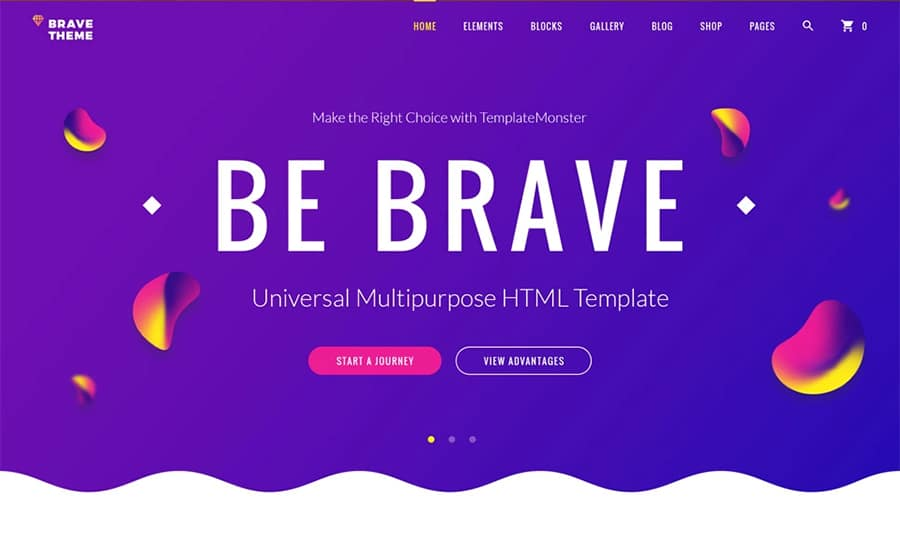 "How to Build a Static Website Using the ""Brave"" HTML5 Theme and Novi Builder"