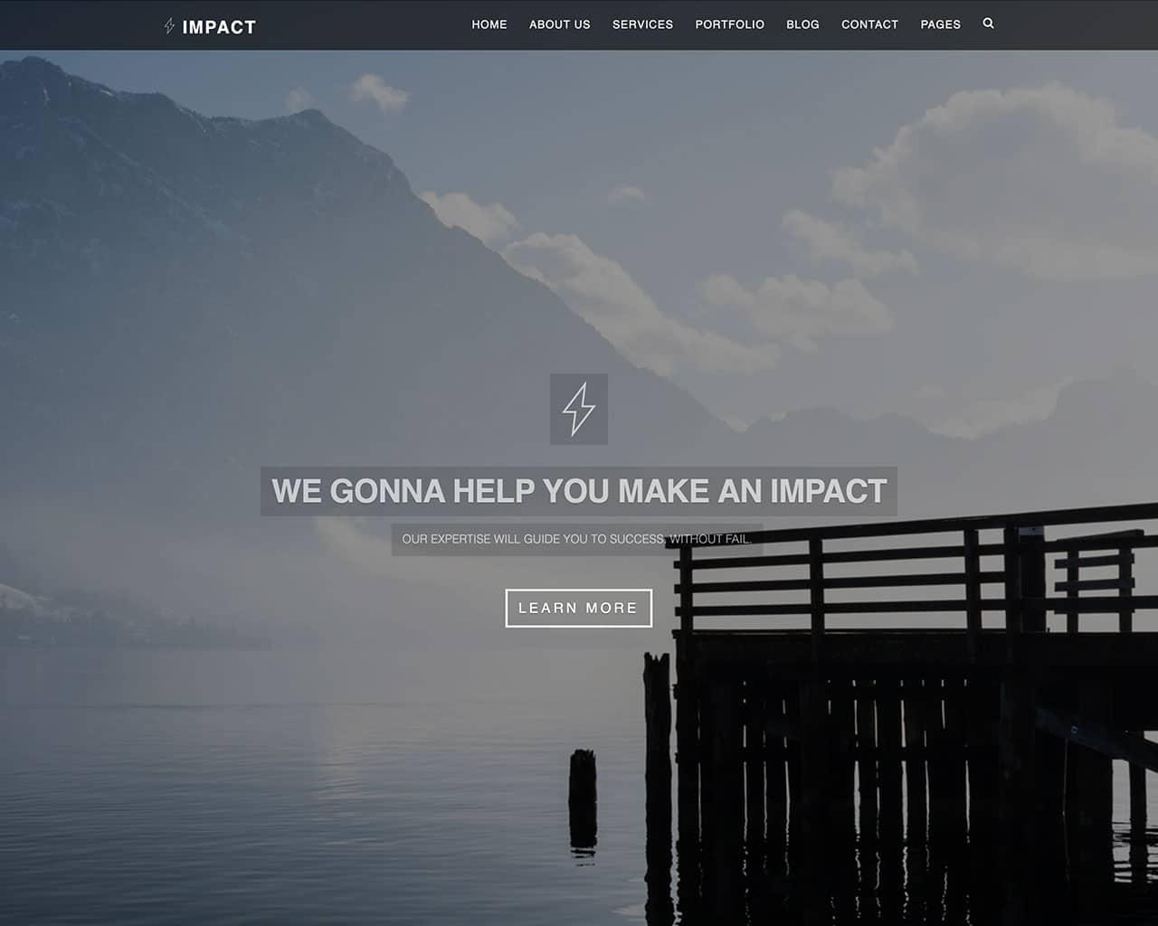 Impact – Multipurpose Responsive Template