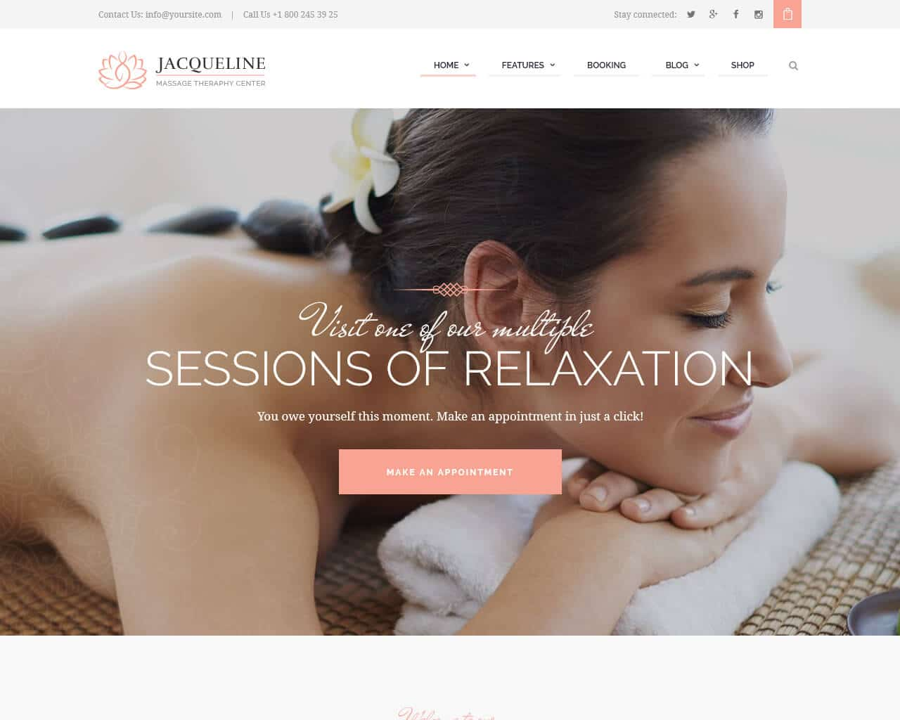 Jacqueline Website Template