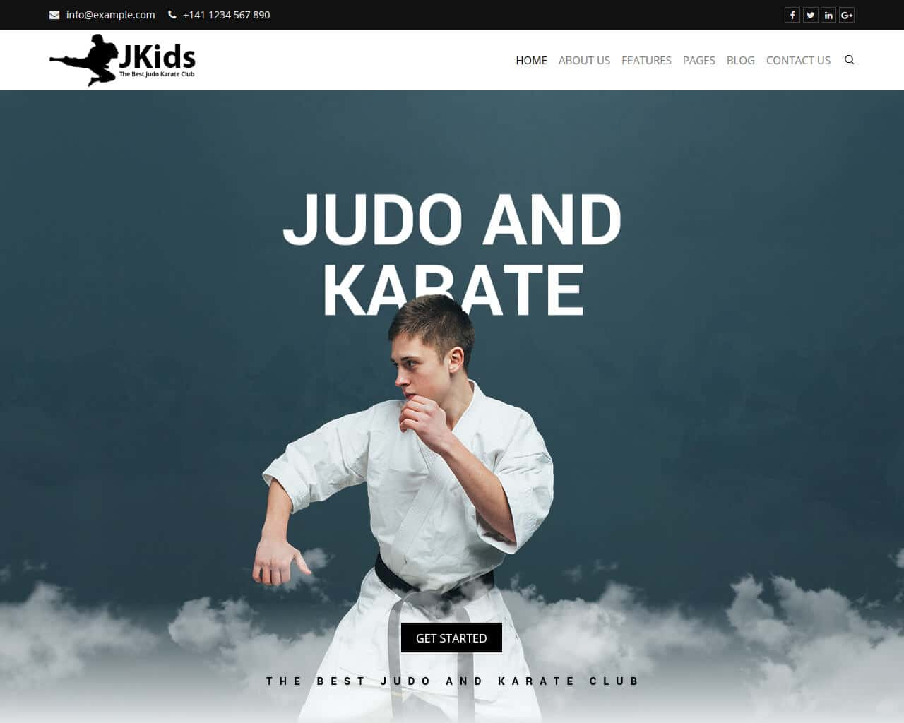 JKids Website Template