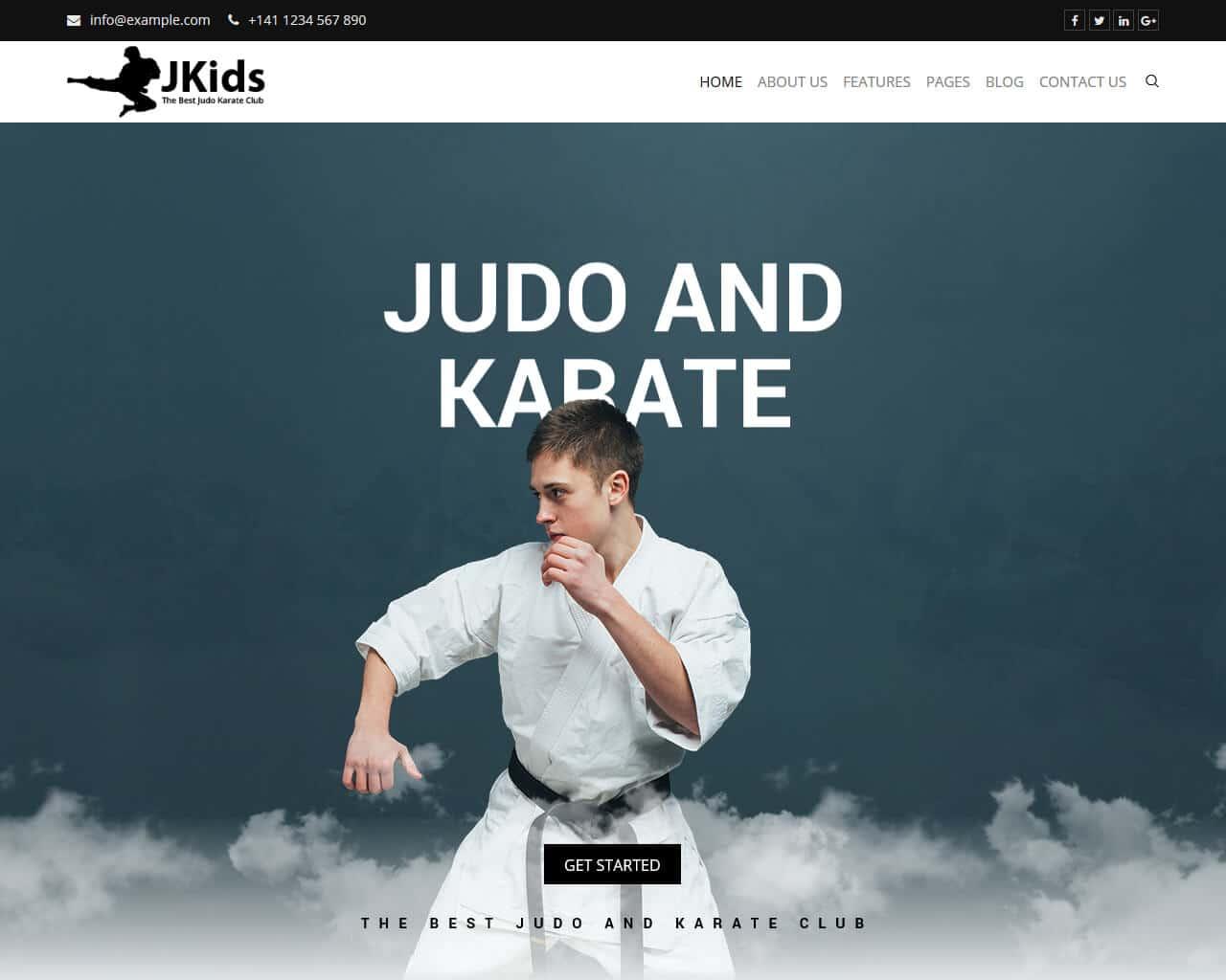 JKids Website Template