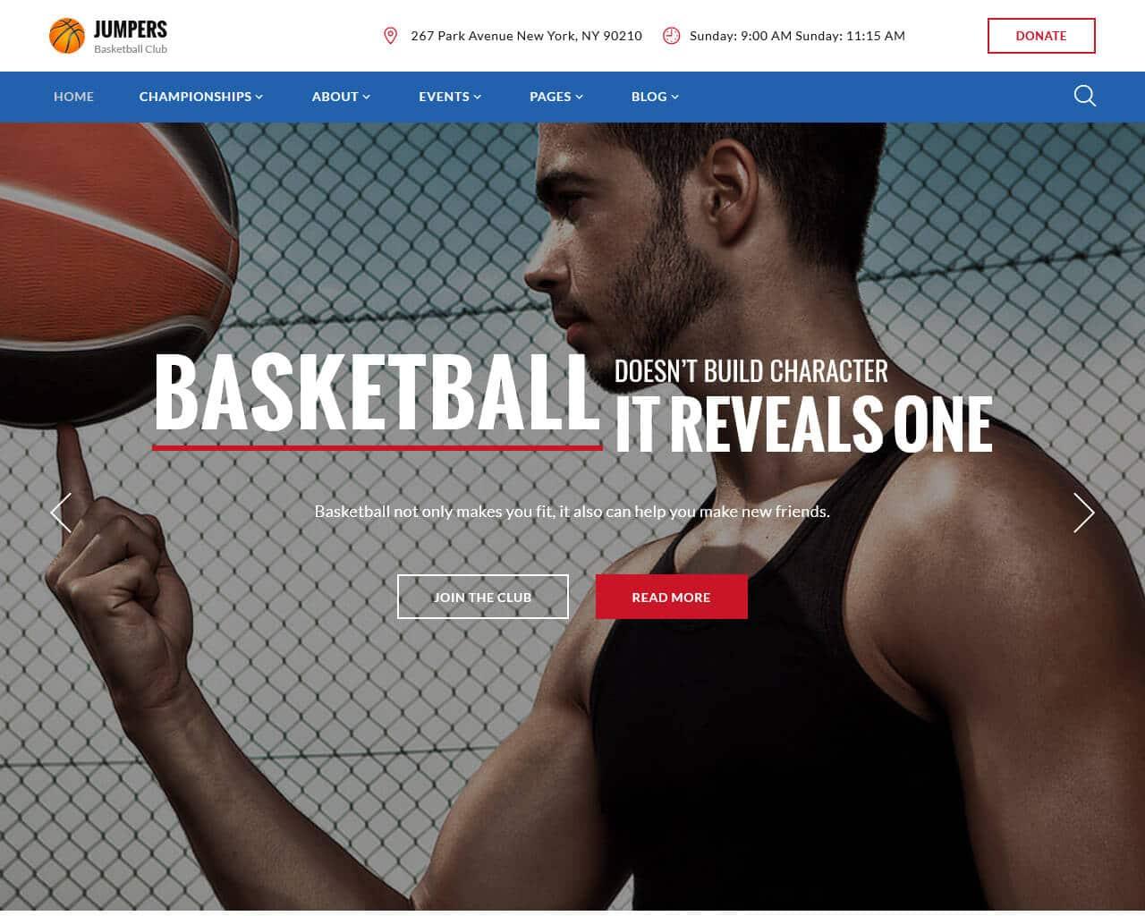 Jumpers Website Template