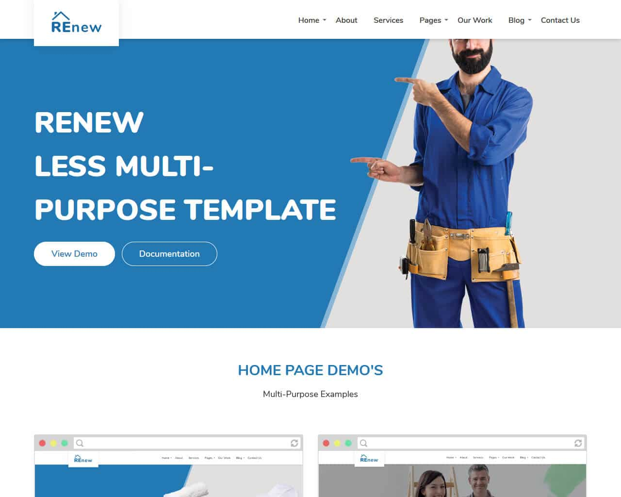 Ligothemes Website Template