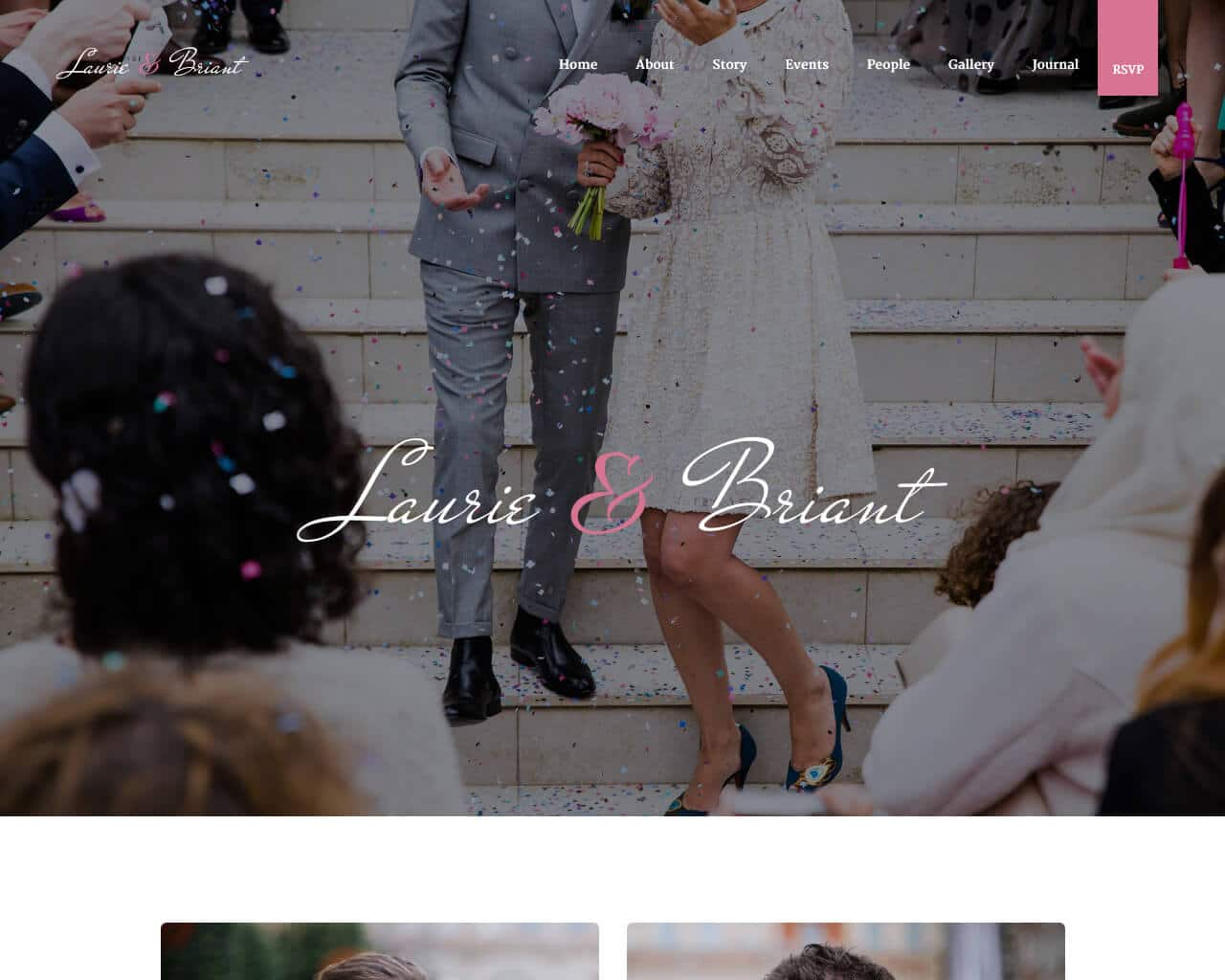 Lovus Website Template