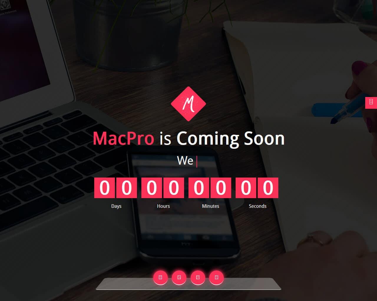 Macpro Website Template