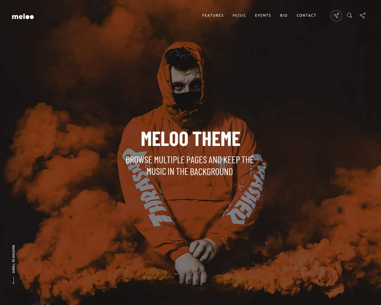 Meloo Website Template