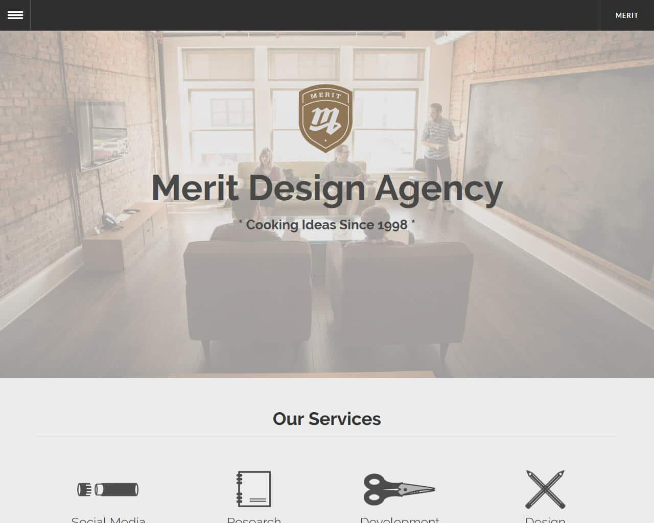 Merit – Bootstrap Agency Template
