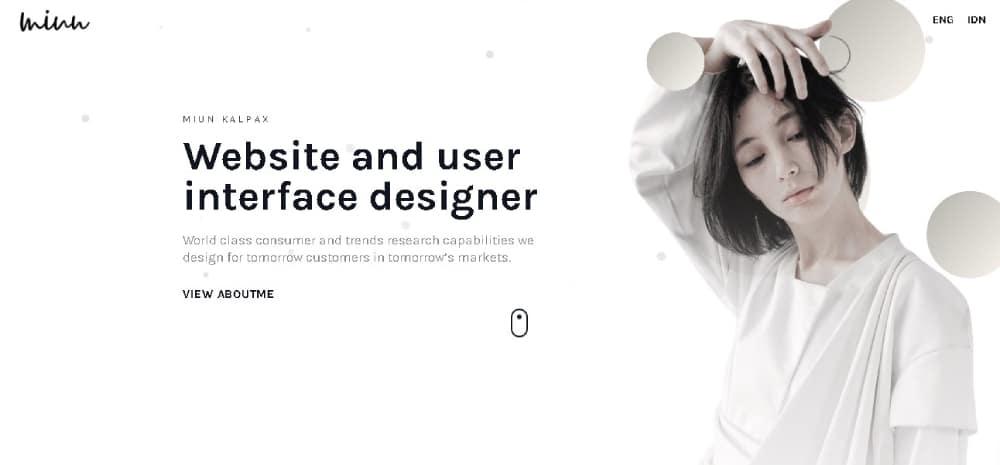 Miun Website Template