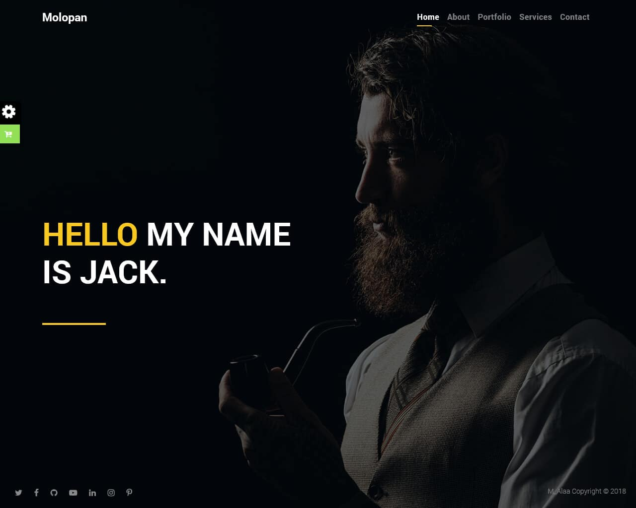 Malopan Website Template