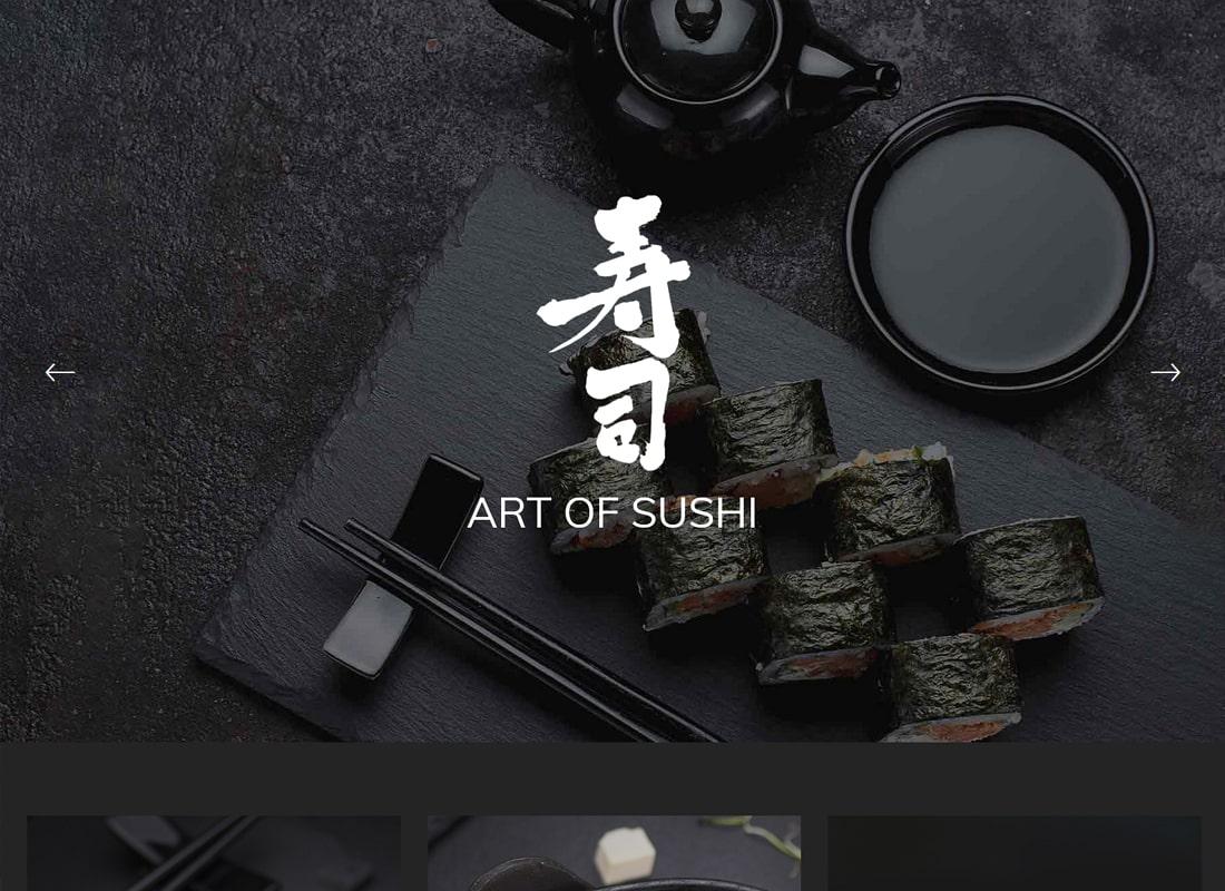 Morsel | Delightful Restaurant and Café Theme Website Template