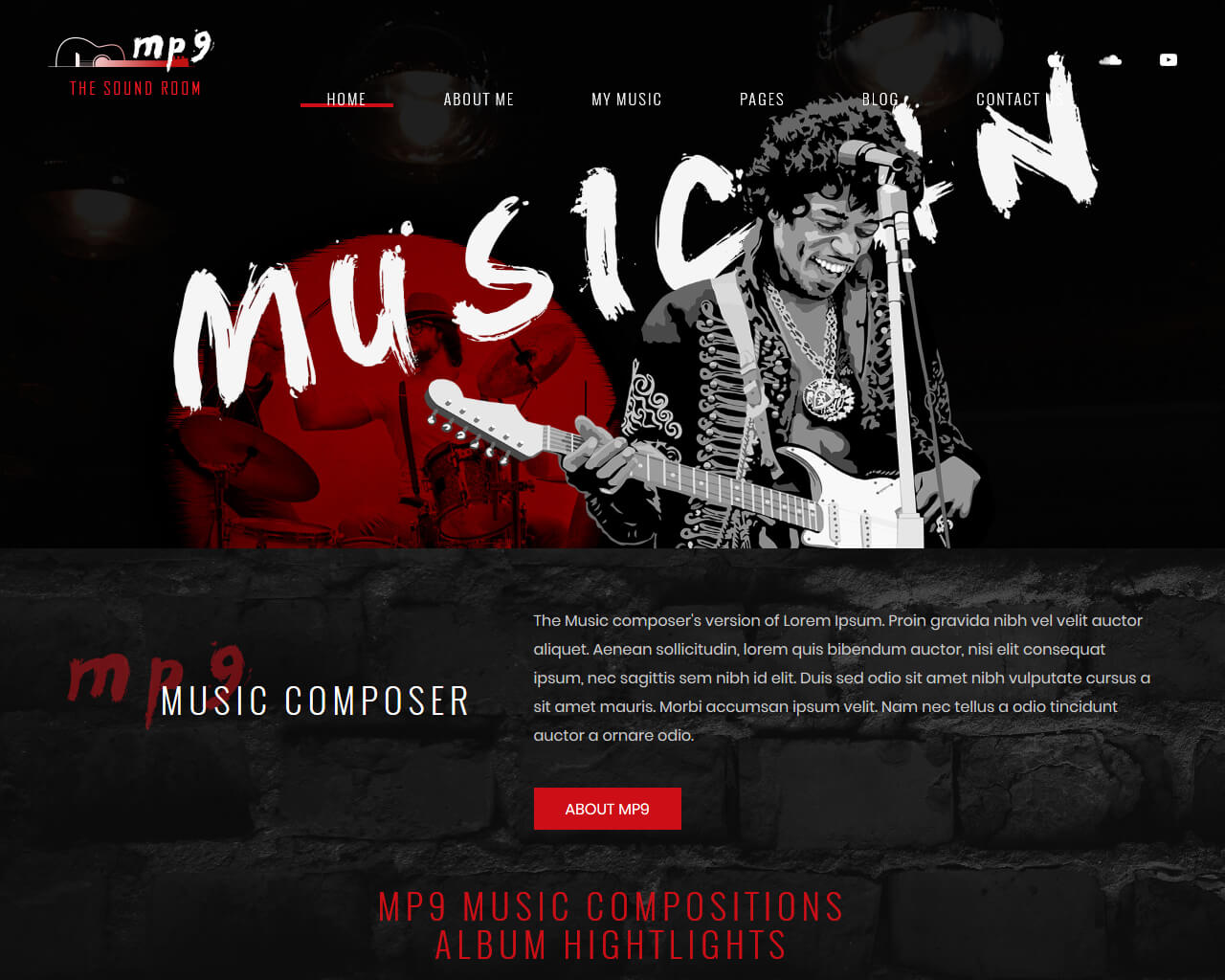 MP9 Website Template
