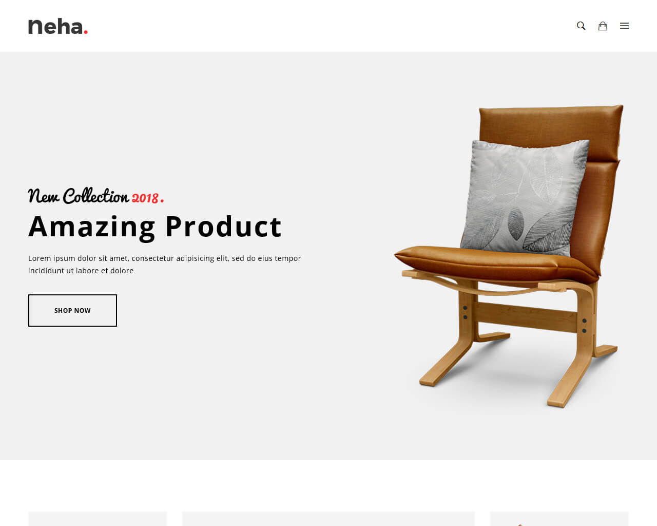 Neha Website Template