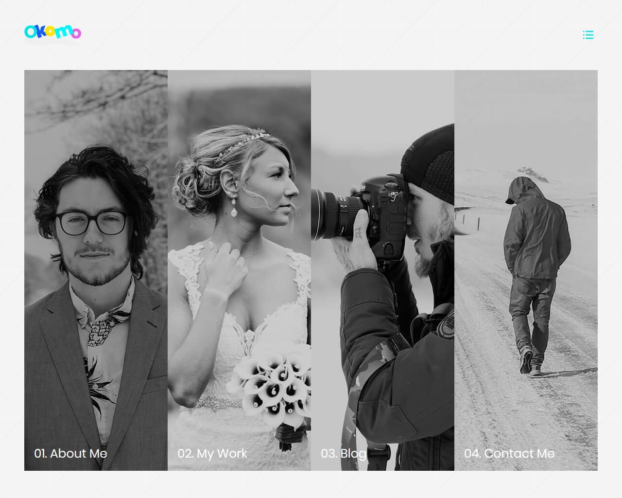 Okomo Website Template