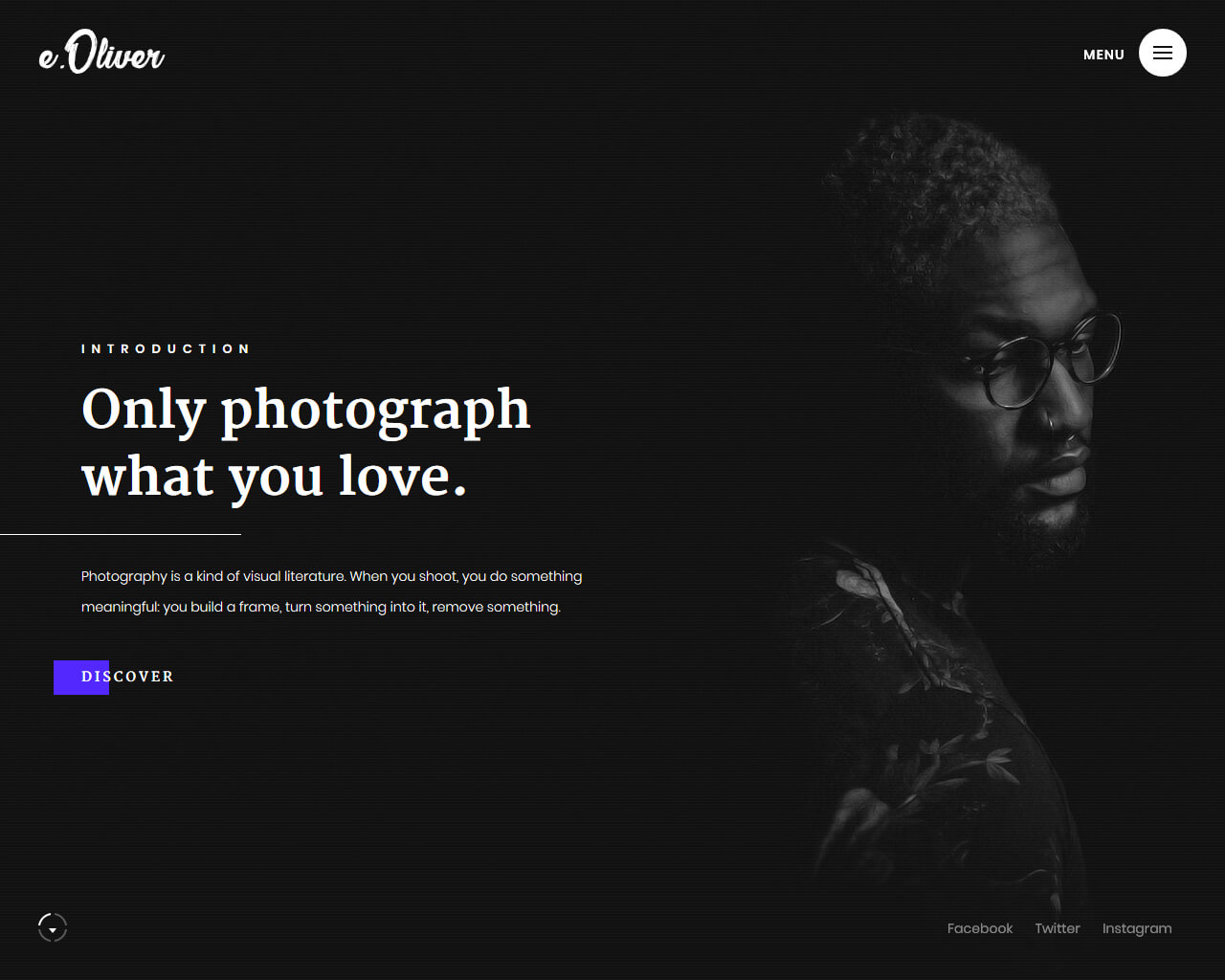 Oliver Website Template