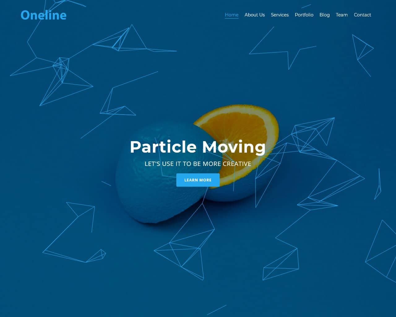 Oneline Website Template