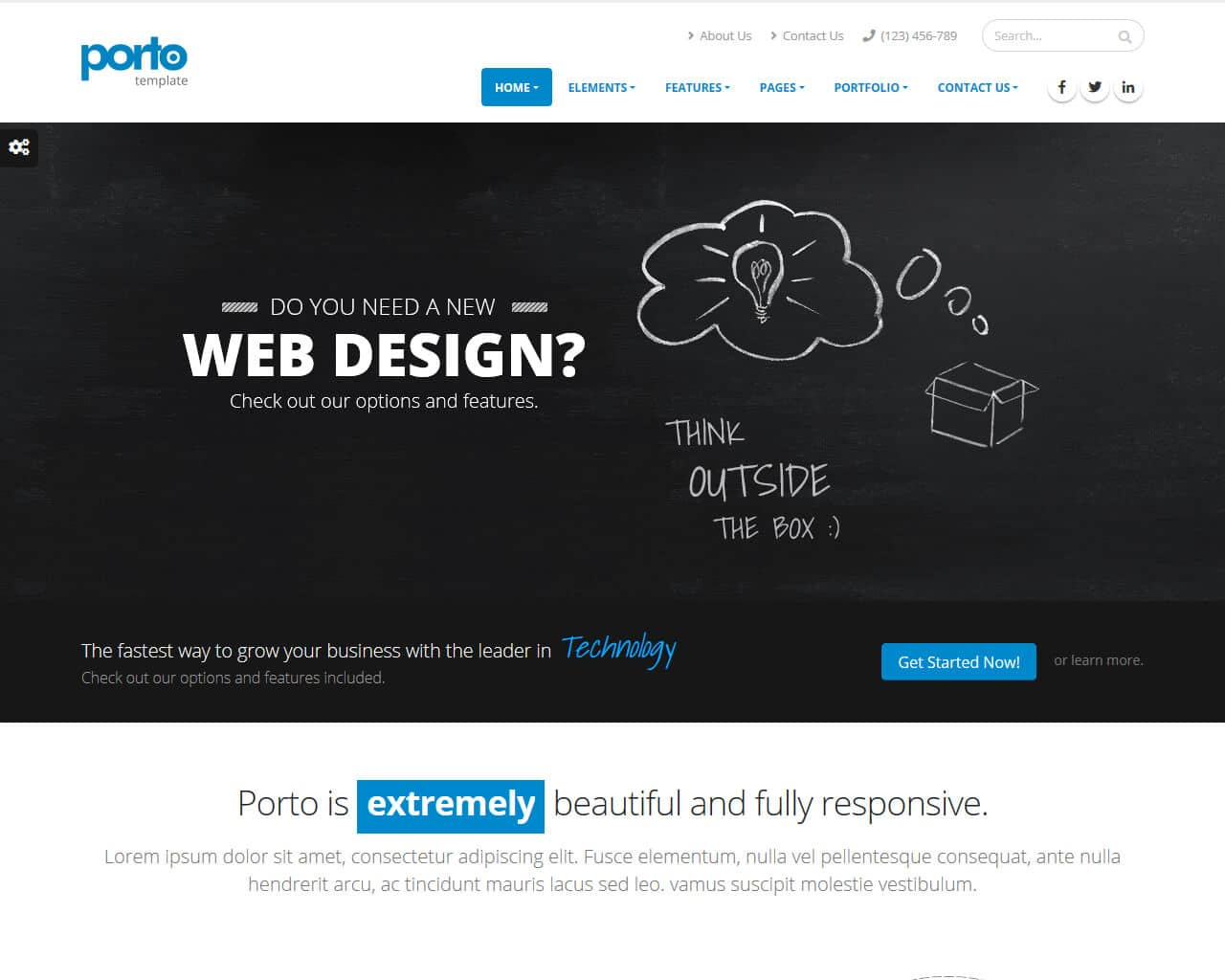 Porto Website Template