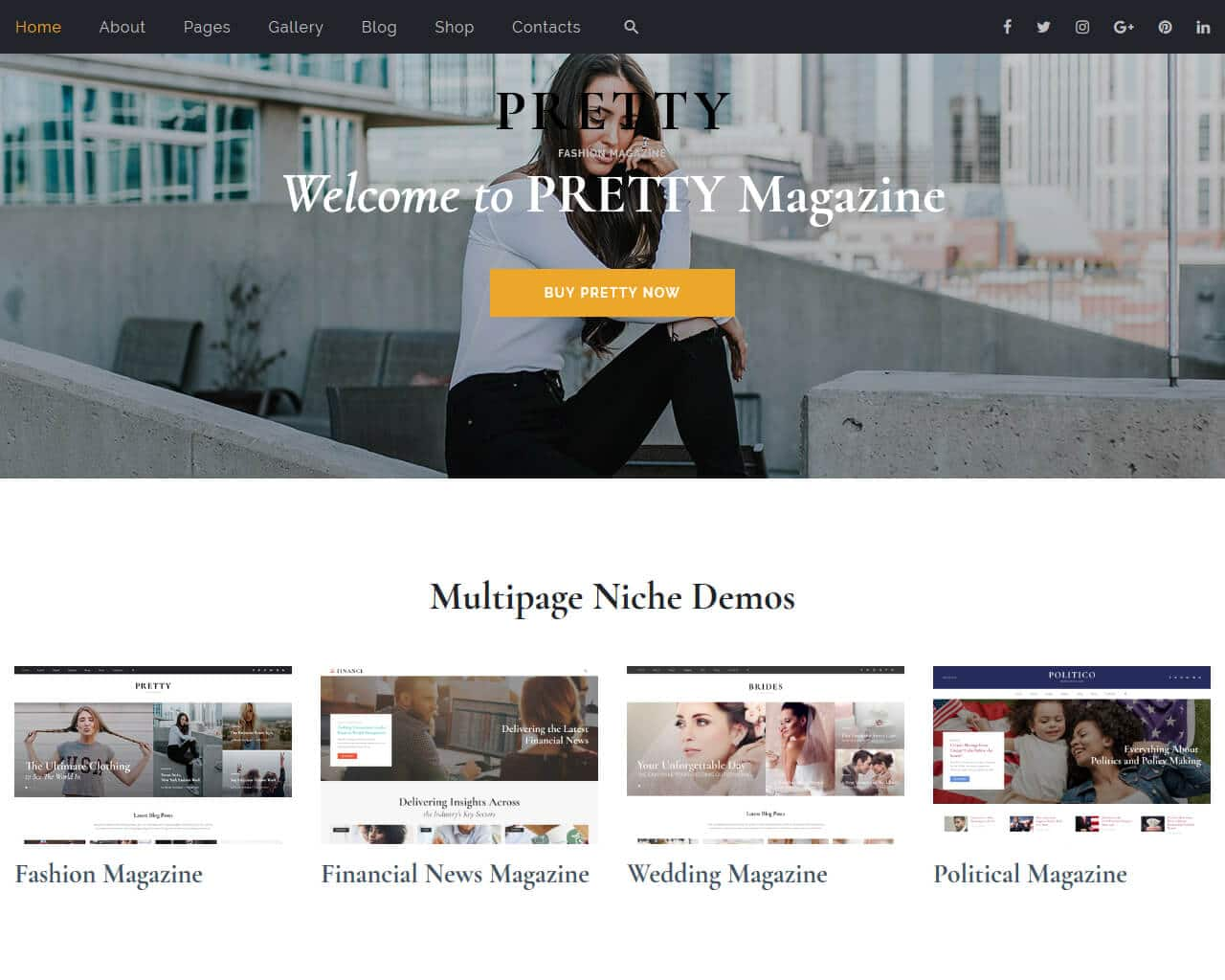 Pretty Website Template