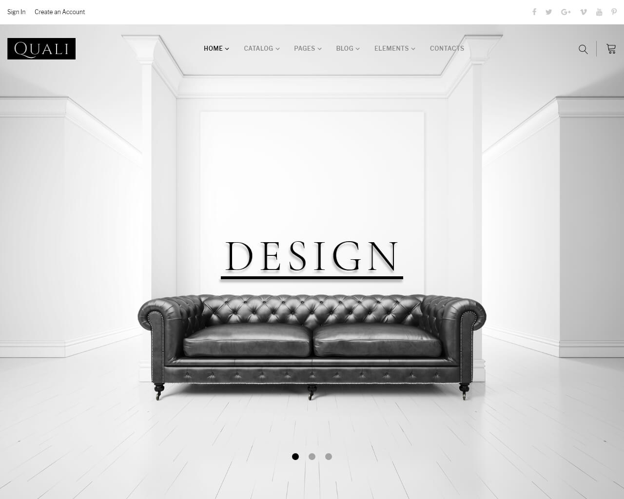 Quali Website Template