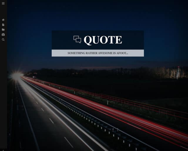Quote – Multipurpose Bootstrap Template