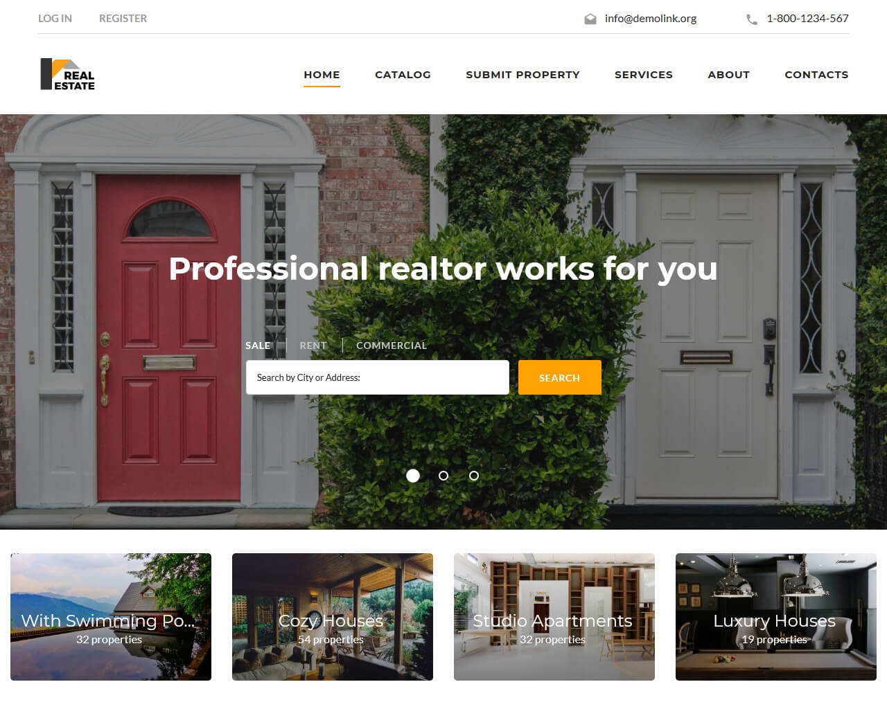 Real Estate Templates | Best Real Estate Website Templates To Sell Properties 2018