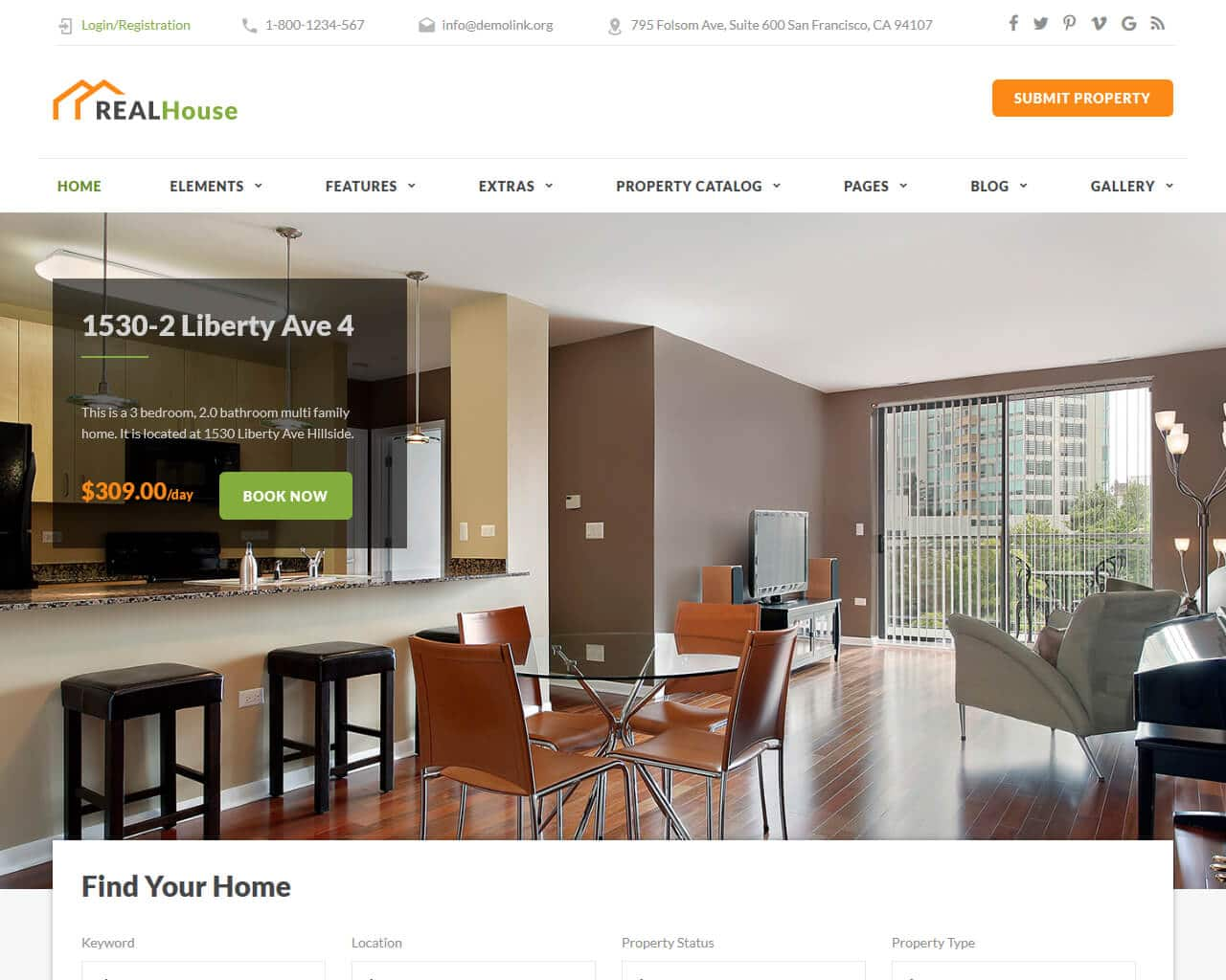 Best Real Estate Website Templates to Sell Properties 2019