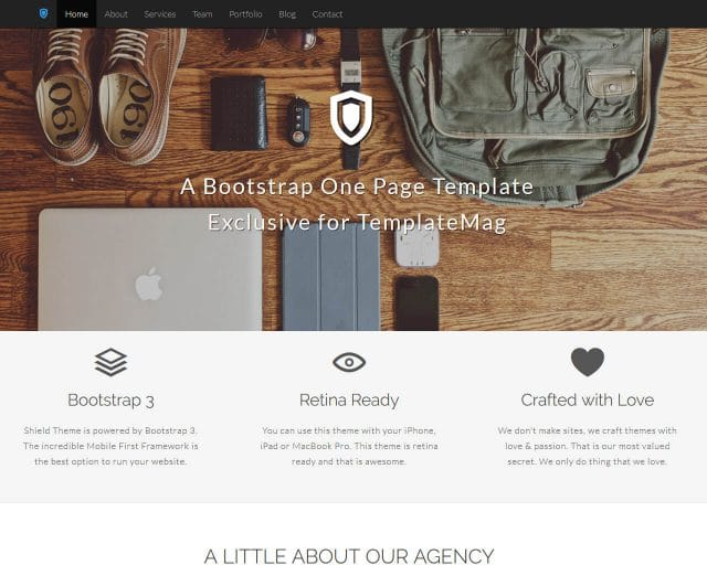 20 Best One Page Website Templates 2019
