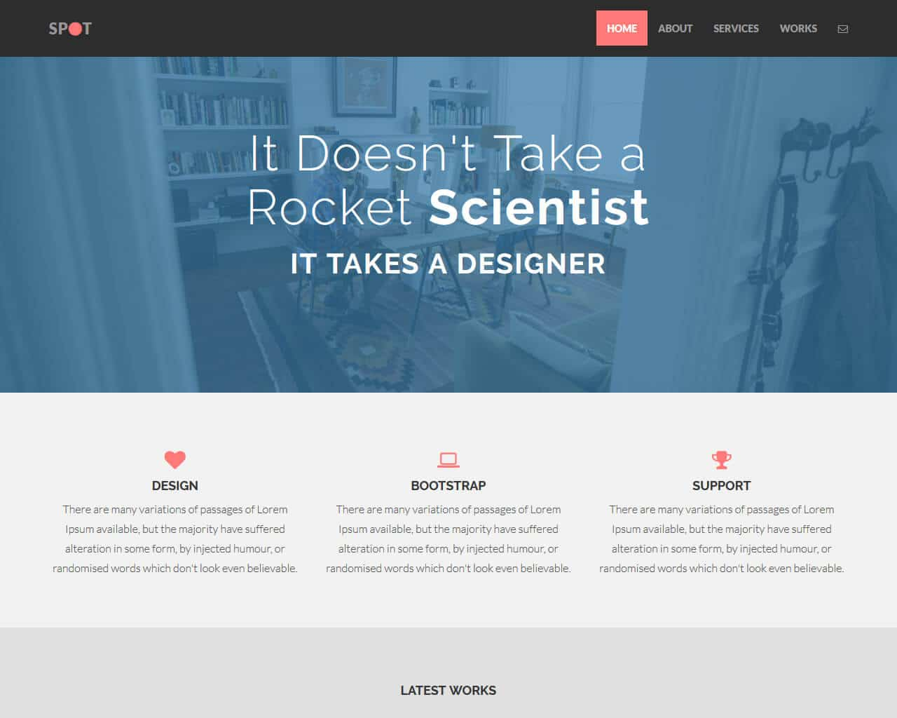 Spot – Bootstrap Freelance Template