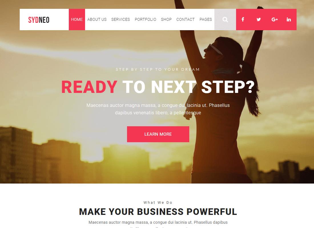 Marketing | SEO | Sydneo Marketing WordPress for SEO & Marketing Services  Website Template