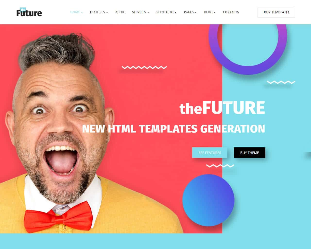 The Future Website Template