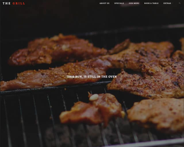 TheGrill – Bootstrap Restaurant Template