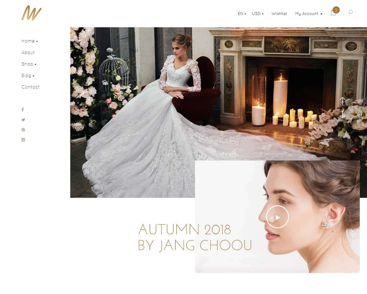 The VOW Website Template