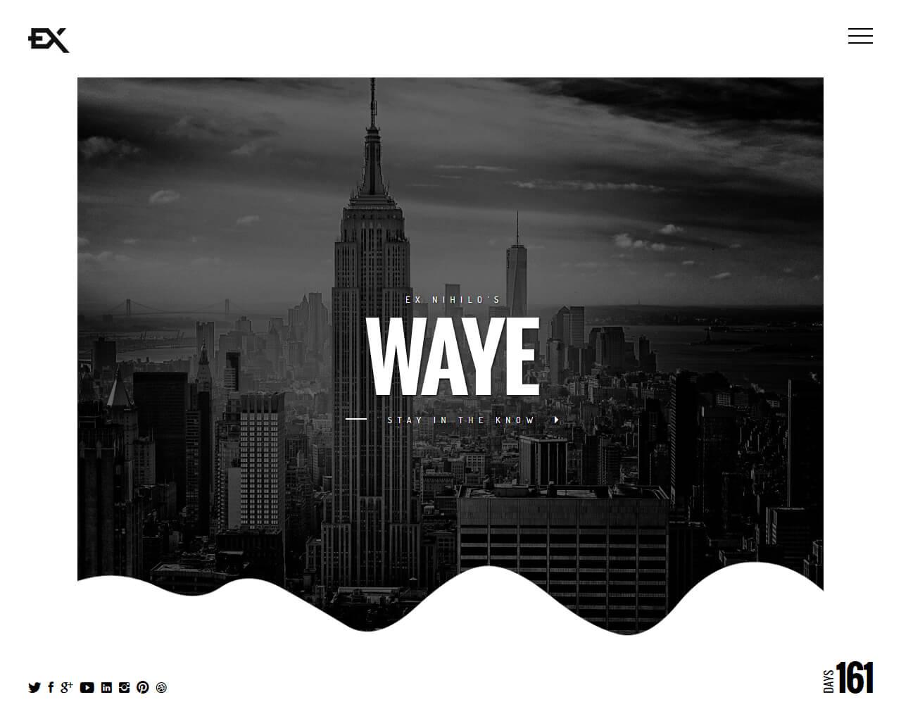 Waye Website Template